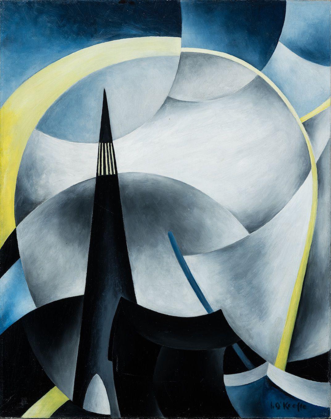 Variation on a Lighthouse Theme V. ca. 1931-1932.