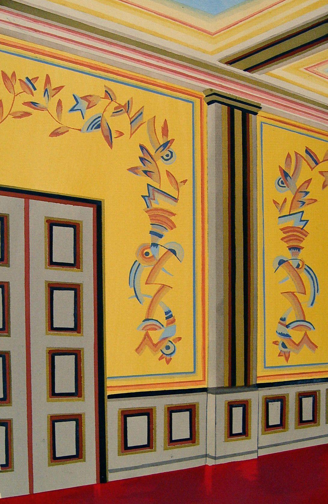 Interior. 1929. Yellow.