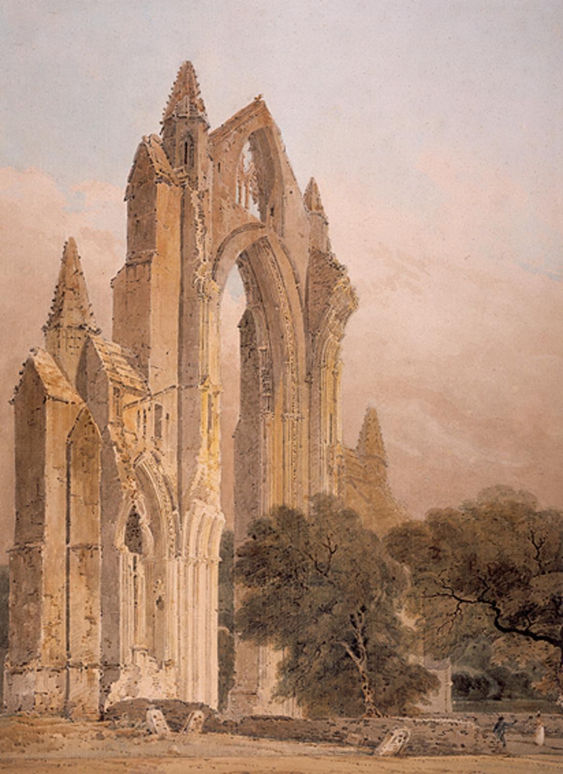 """Guisborough Priory."" 1801."