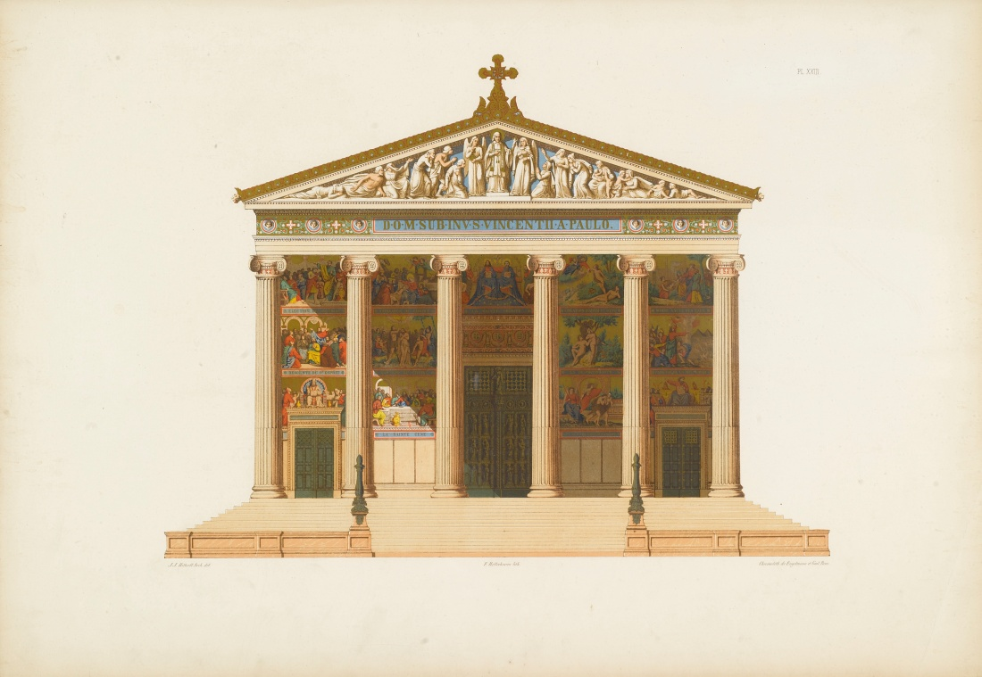 Temple of Empedocles at Selinunte. 1851.