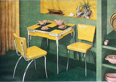 Advertisement for Daystrom Furniture. August, 1949.