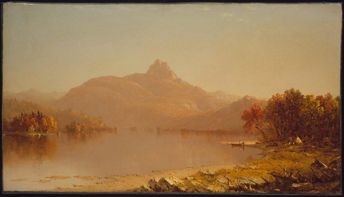 """""""An October afternoon."""" 1871."""