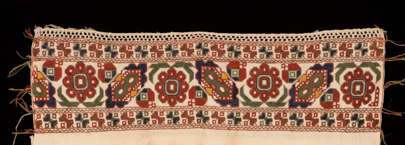 Kerchief (detail). 19th c.