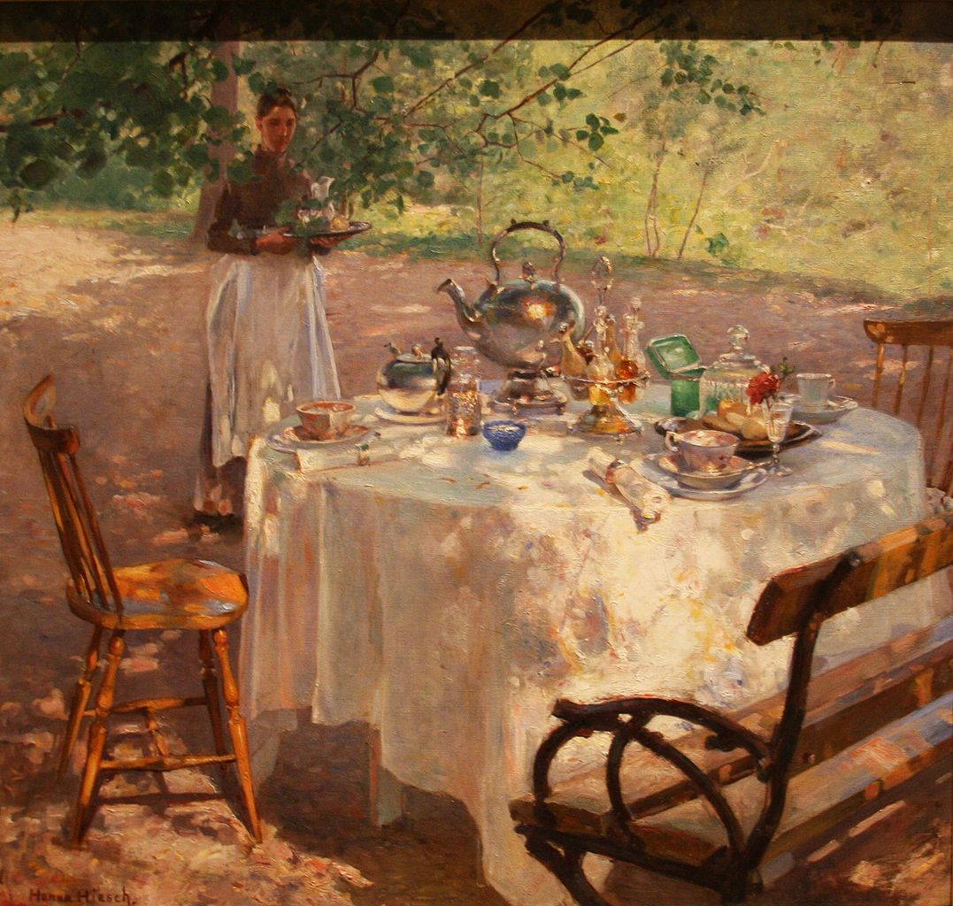 """Breakfast Time."" 1887."