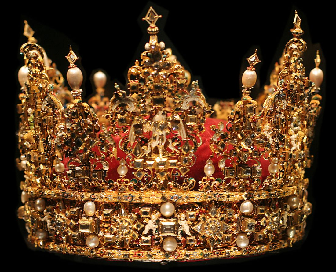 Used for the coronation of Frederick II of Denmark in 1648.