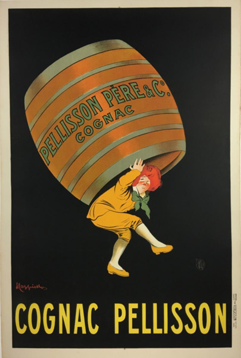 """""""Cognac Pellisson."""" Undated."""