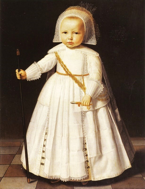 """Boy in White."" 1641."