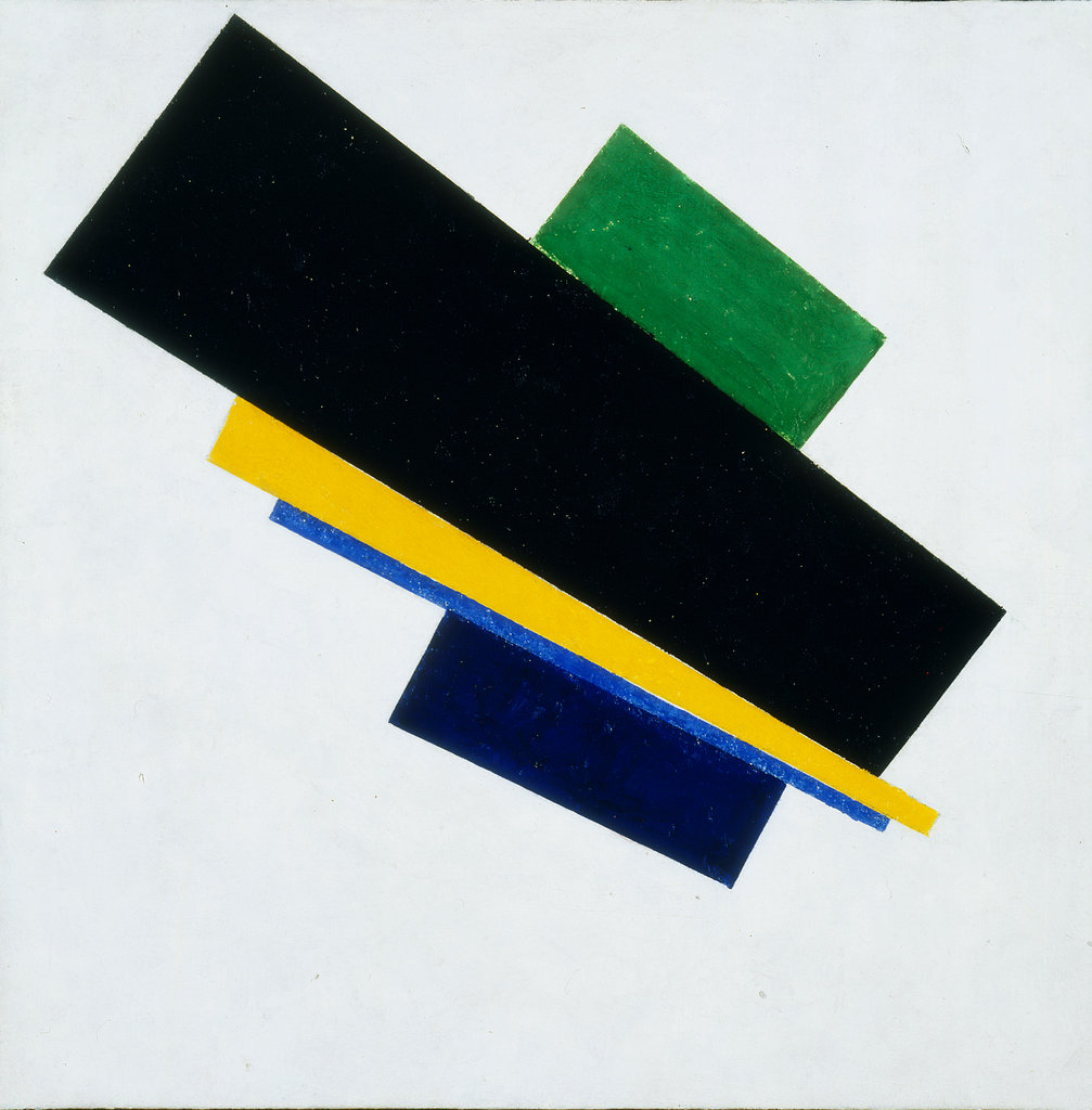 "''Suprematism, 18th Construction."" 1915."