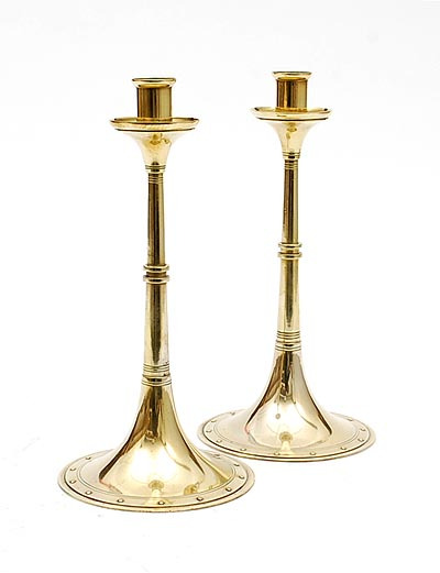 Candleholders. 1904.