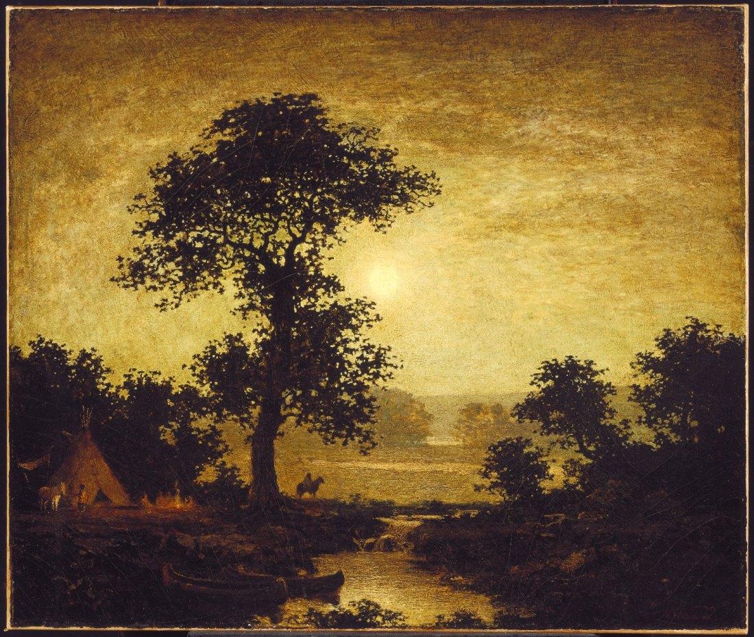 """""""Moonlight."""" 1885-1889."""