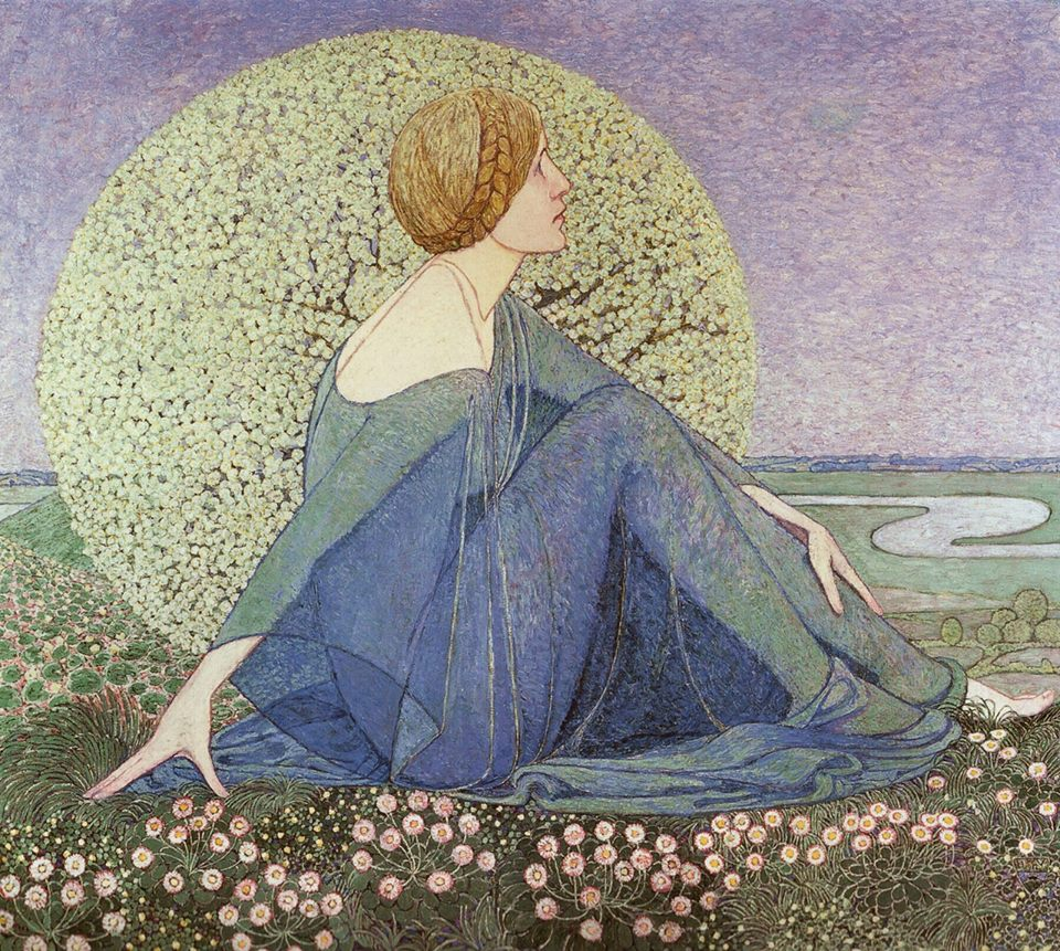 """The Expectation (Dreams II)."" 1912."