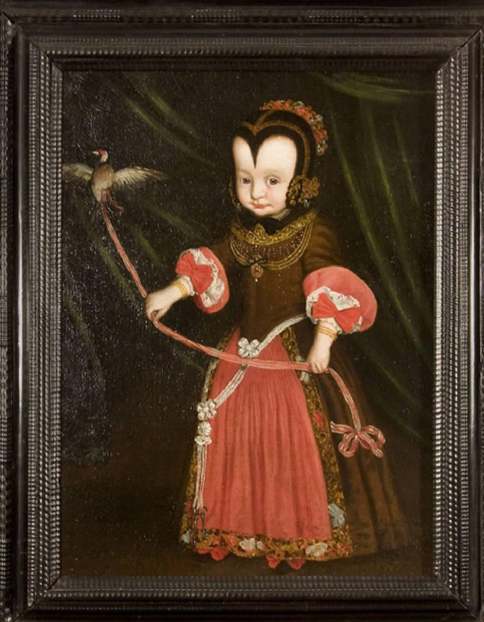 """Young girl with a goldfinch."" ca. 1620."