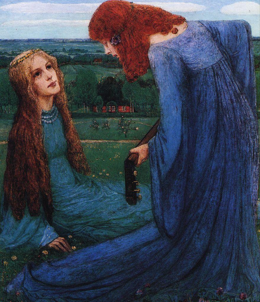"""""""Verkündigung an Maria."""" 1901."""