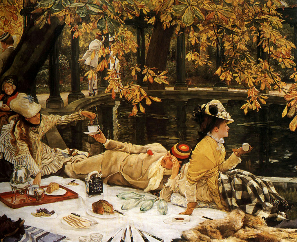 """Holyday"" (The Picnic). 1876."