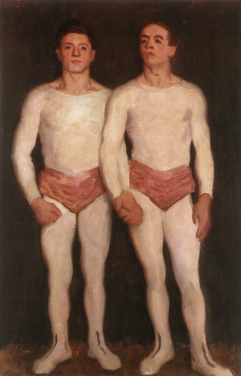 """""""Acrobats."""" 1913."""