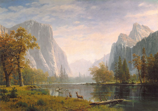 """Yosemite Valley."" ca. 1863-1875."