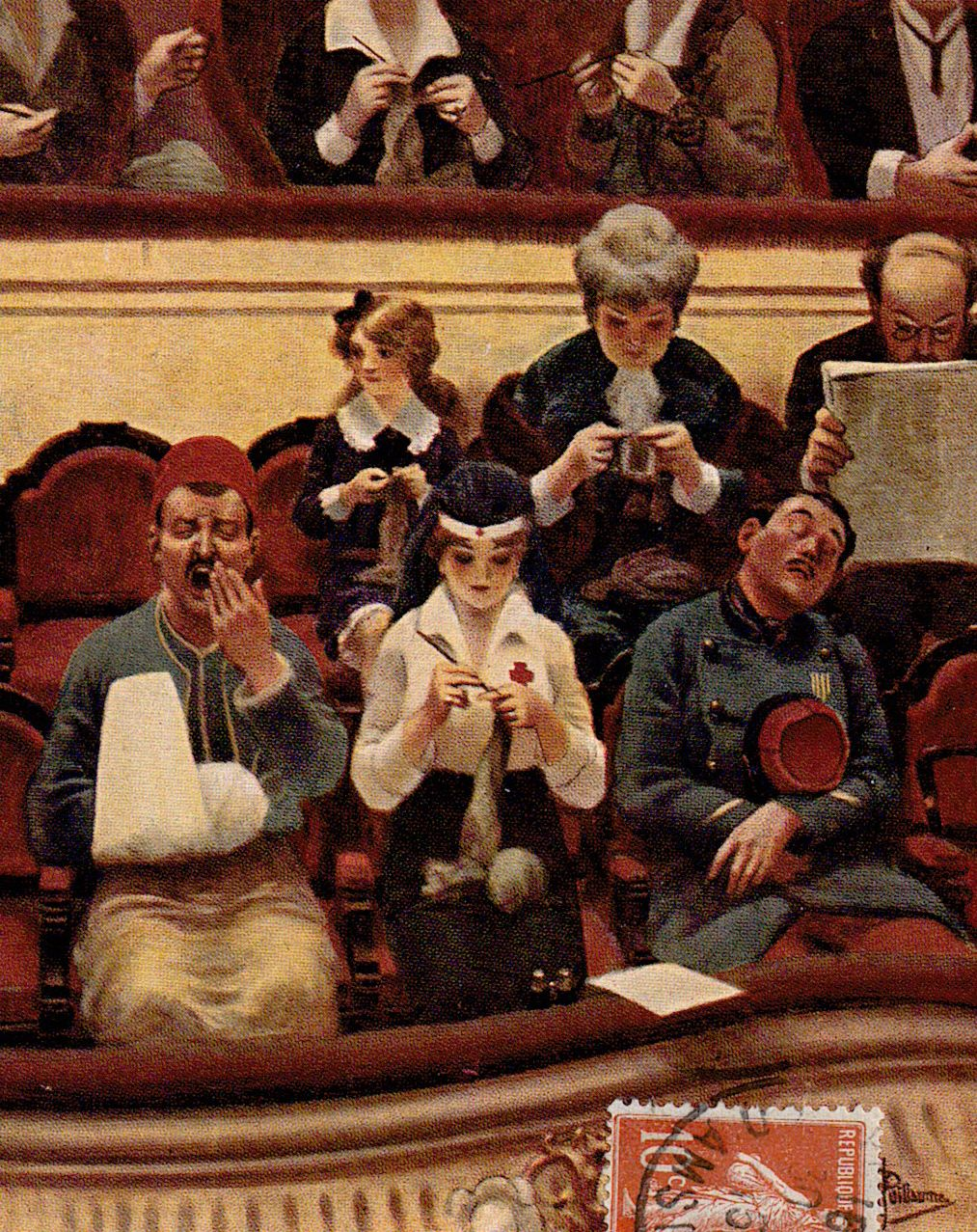 """""""15 minutes d'entr'acte."""" 1914-1916."""