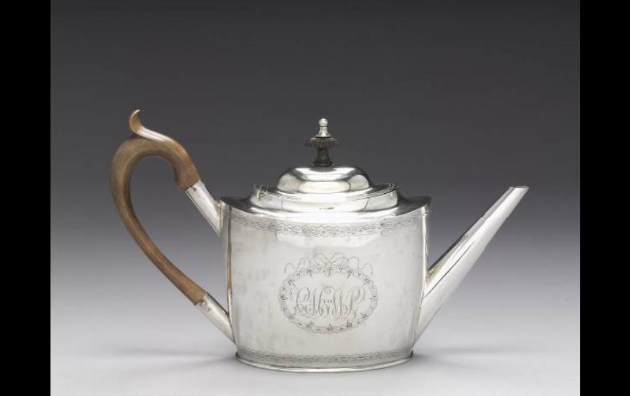 Teapot. 1790-1810.