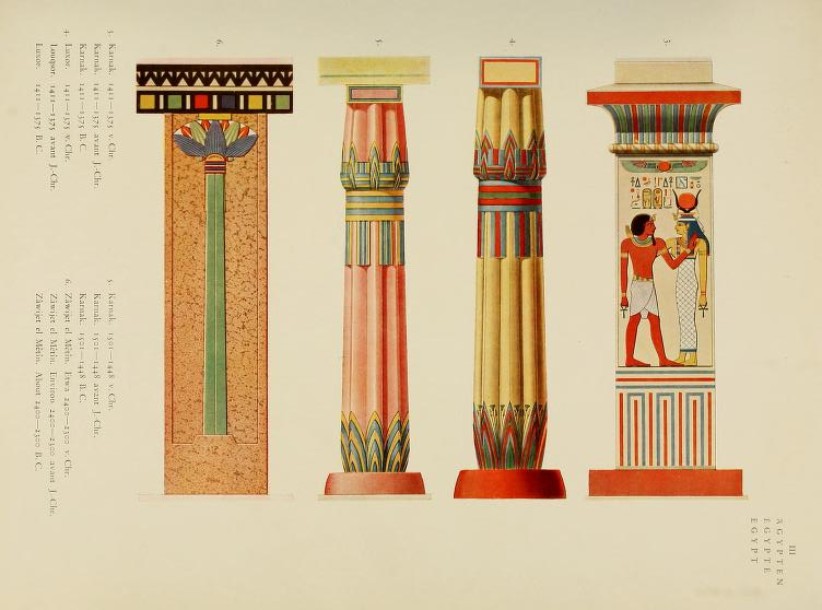 """Egyptian"" Plate 3. Page 45."