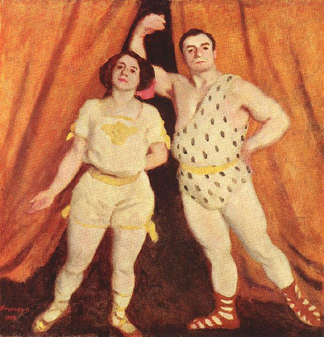 """""""Acrobats."""" 1912."""