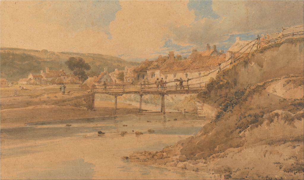 """Sandsend, Yorkshire."" 1802."