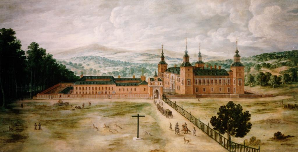 """""""Vista del Palacio Real de El Pardo."""" 1630."""