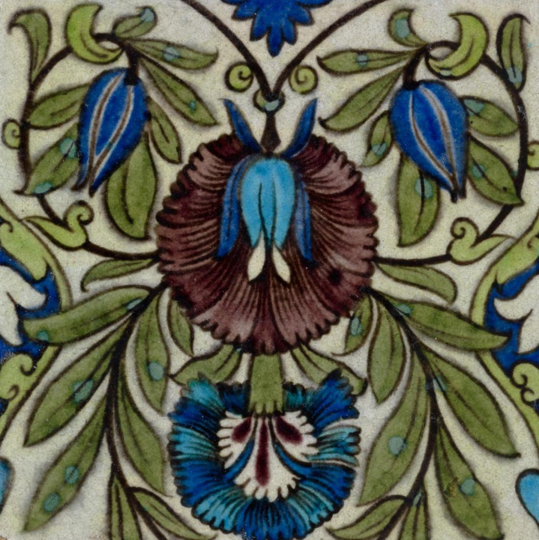 """Persian flowering foliage."" 1872-1881."