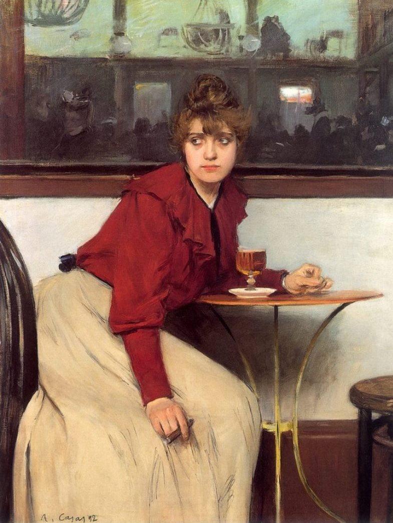 """""""Madeleine."""" 1892."""