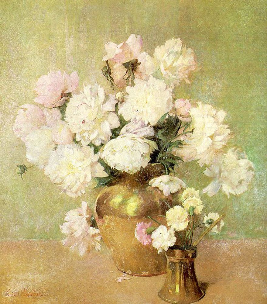"""Peonies."" Undated."