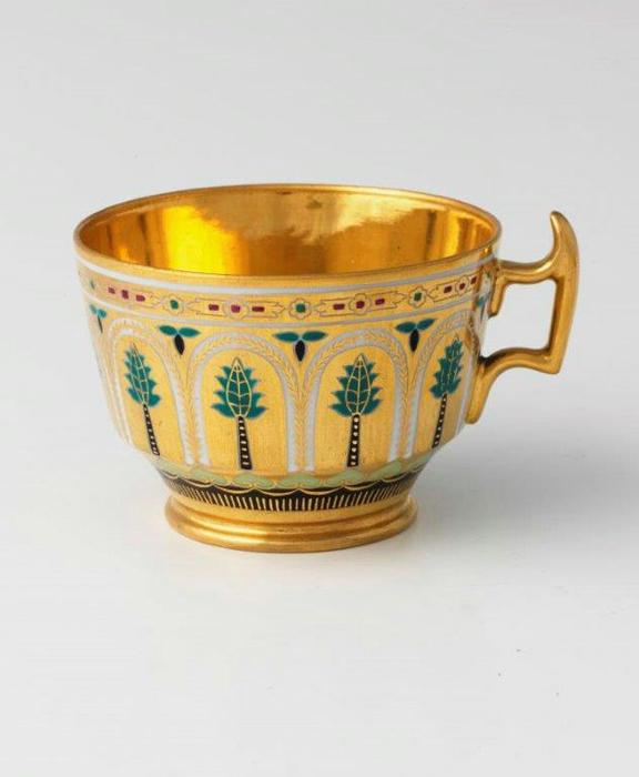 Cup from the Kremlin service. 1897.rh.