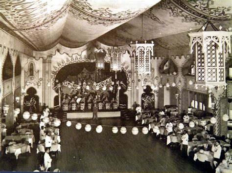 Interior of the Bagdad supper club, Grand Prairie, Texas outside Dallas. Undated.