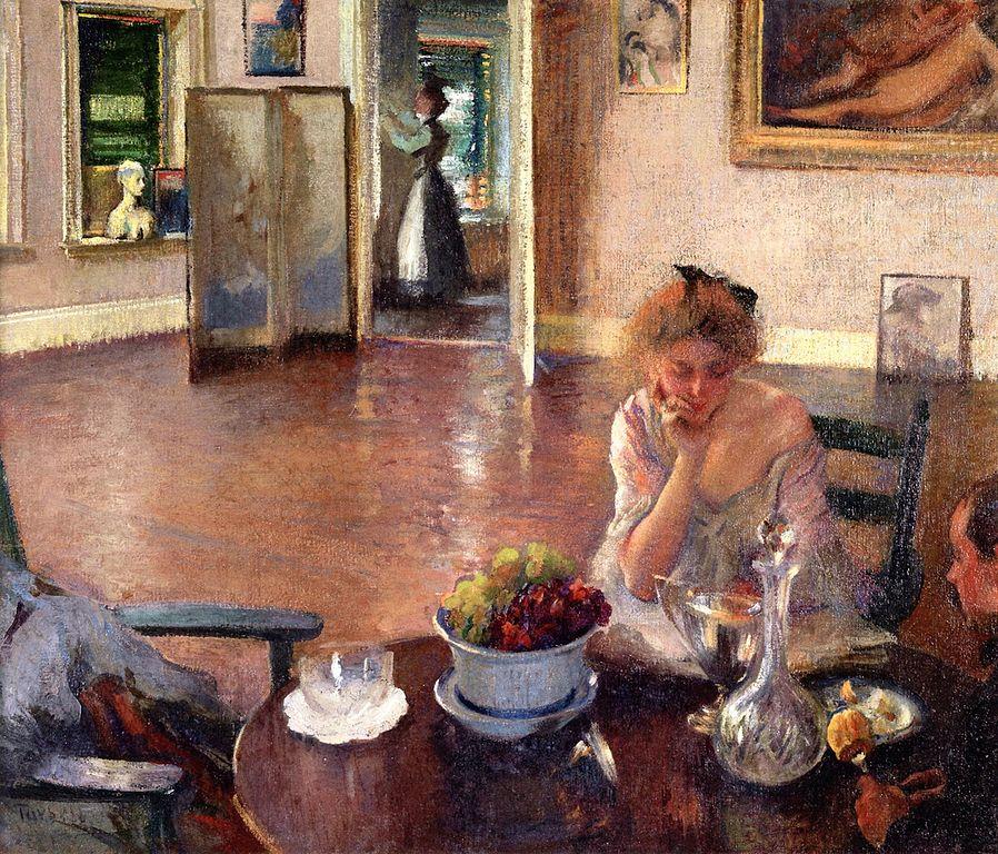"""The Breakfast Room."" ca. 1902."