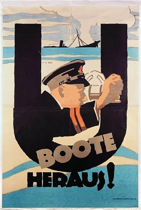 U boat recruiting poster.