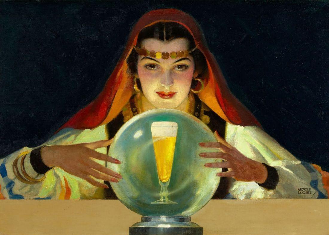 """Drink Budweiser, America's social companion."" ca. 1930-1939."