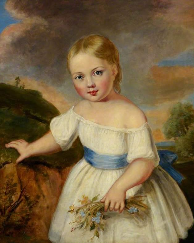 Queen Victoria as a child. 1820's.