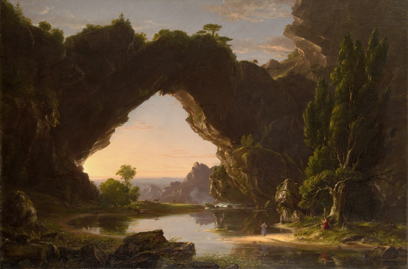 """Evening in Arcady."" 1843."