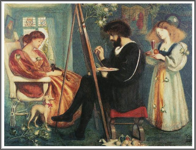 """""""The Painter's Pleasance."""" 1861."""