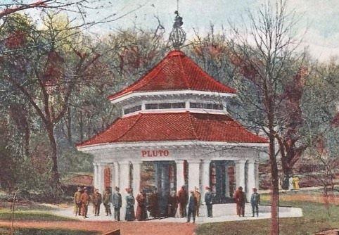 Pluto bandstand, Louisville, Kentucky.