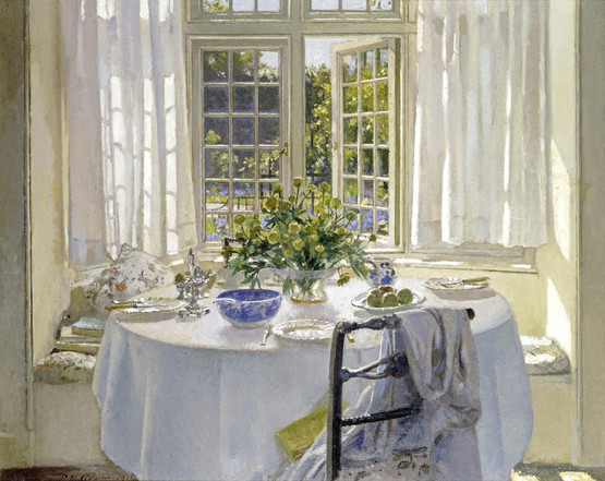"""The Morning Room."" Undated."
