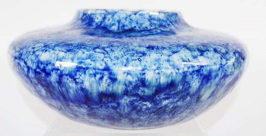 Blue glaze bowl. 1920.