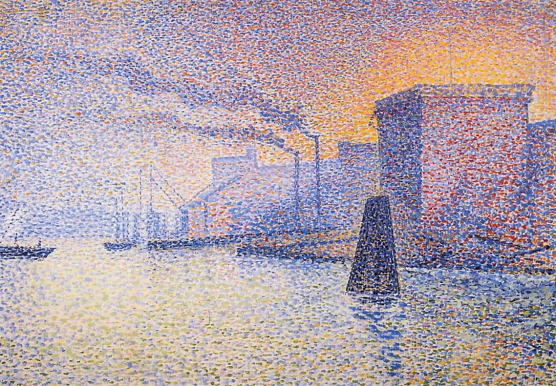 """Factories on the Thames."" 1892-1894."