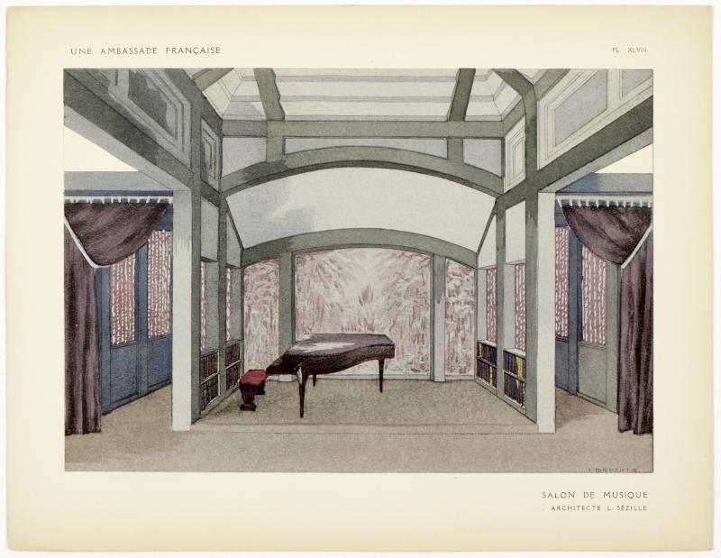 Salon de Musique.