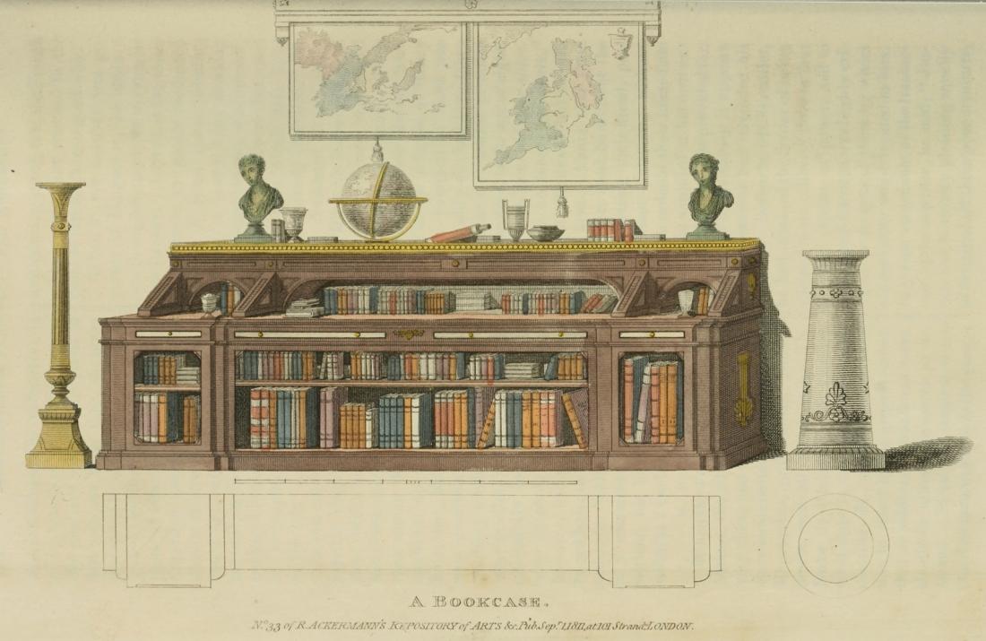 Bookcase. Plate 15. 1811.