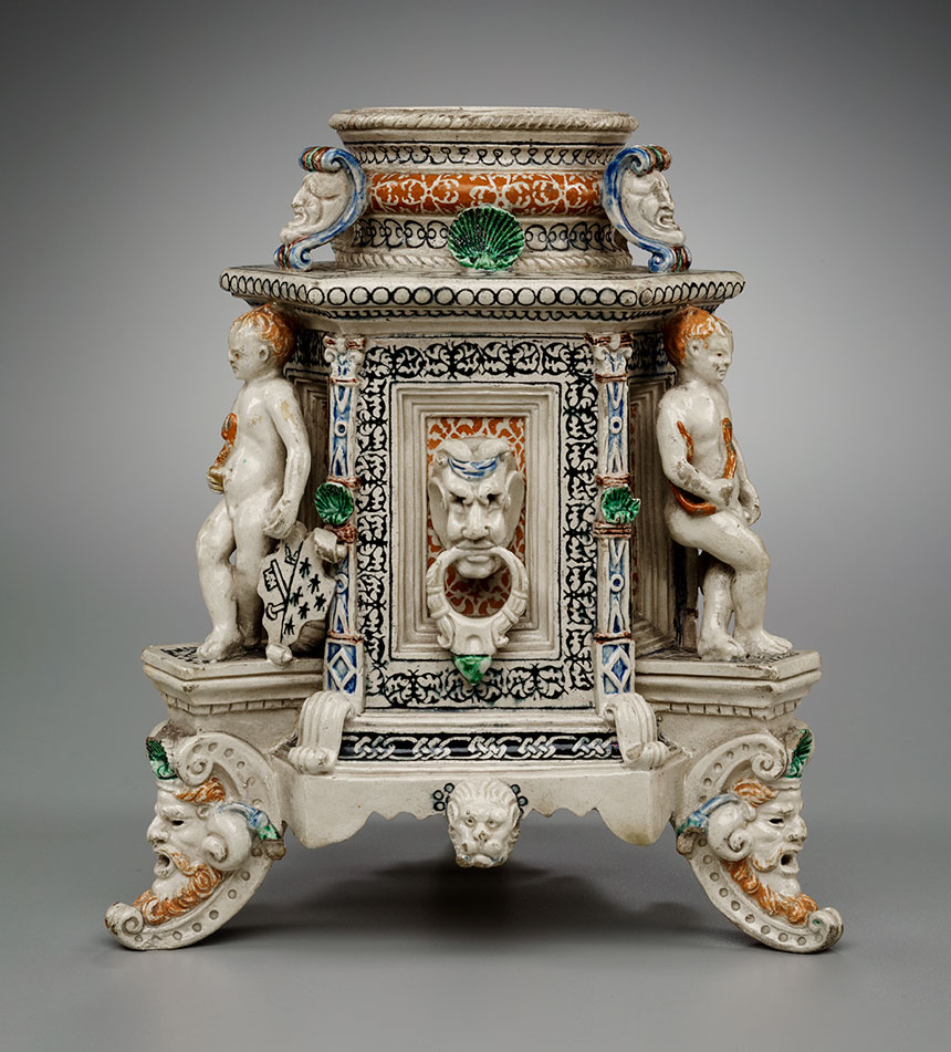 Salt Cellar, mid-16th century.