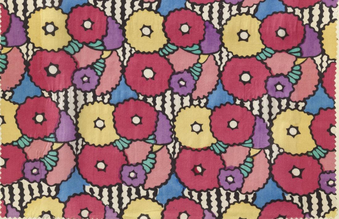 """Strohblume"" design. 1910-1914."