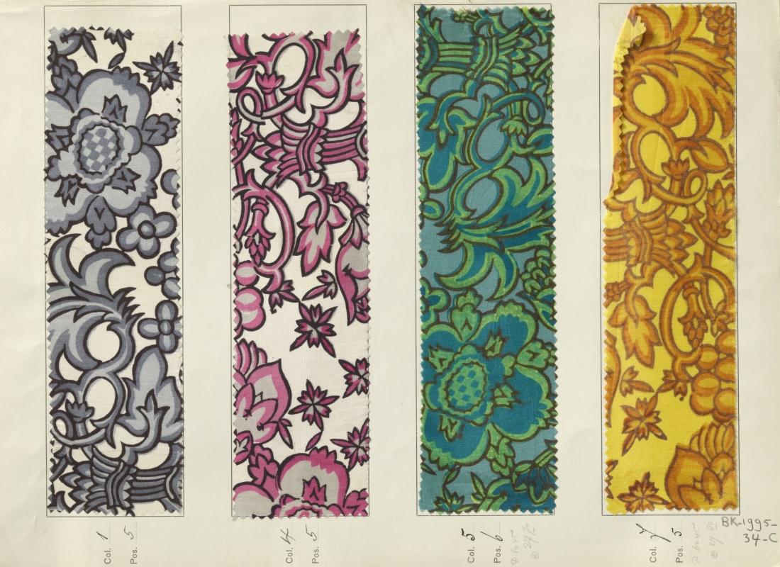 """""""Aussee"""" design. 1911-1914."""
