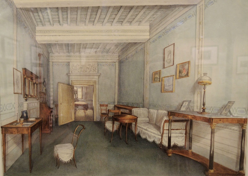 Study of the Shakhovsky prince's estate. Undated.
