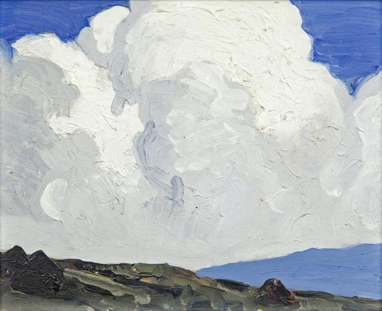"""""""Cumulus Clouds, Dugort."""" Undated"""