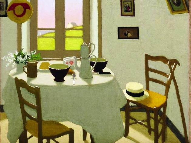 """""""La chambre blanche"""" (detail). 1924."""