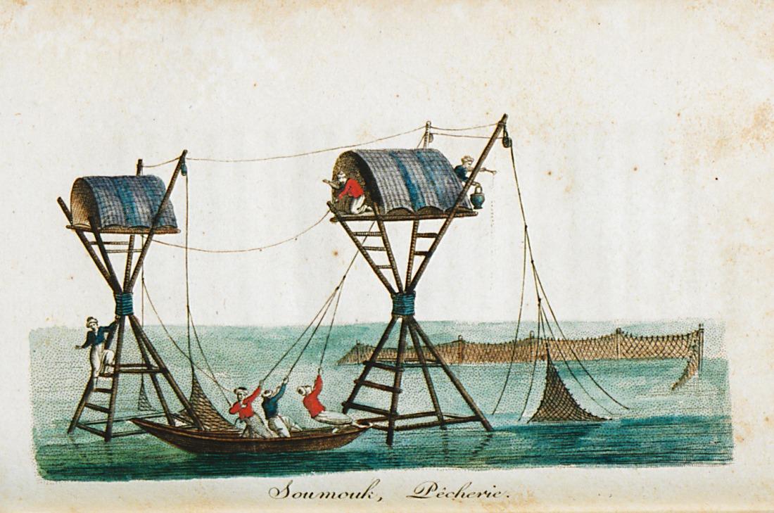 """""""Soumouk, pêcherie."""" 1812."""